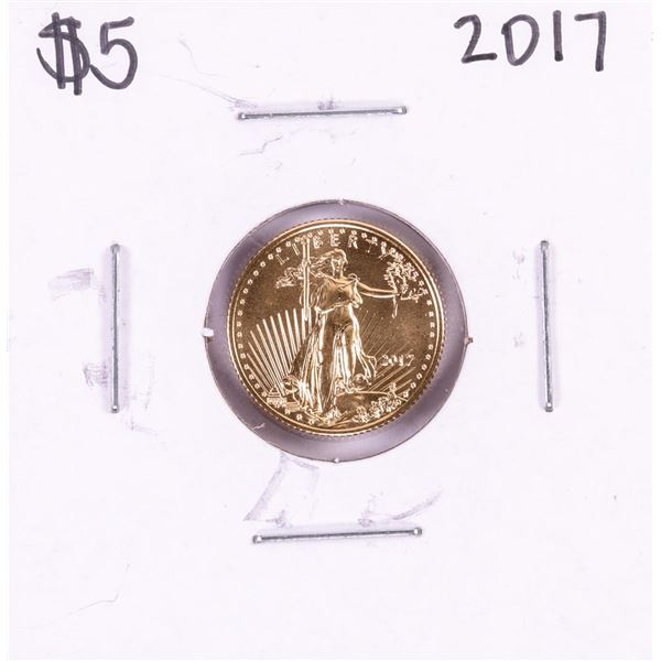 2017 $5 American Gold Eagle Coin