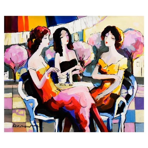 Michael Kerman, Original Acrylic Painting On Canvas