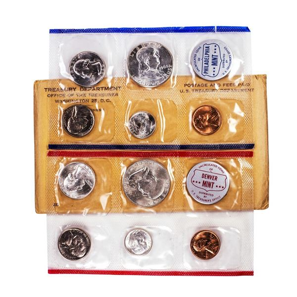 1960 P/D U.S. Mint (10) Coin Set