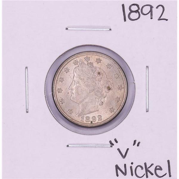 1892 Liberty V Nickel Coin