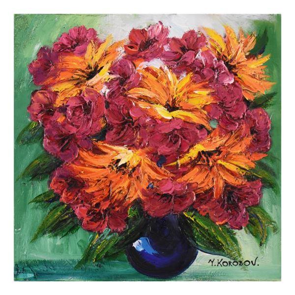 "Korobov ""Fragile Beauty"" Original Acrylic On Canvas"