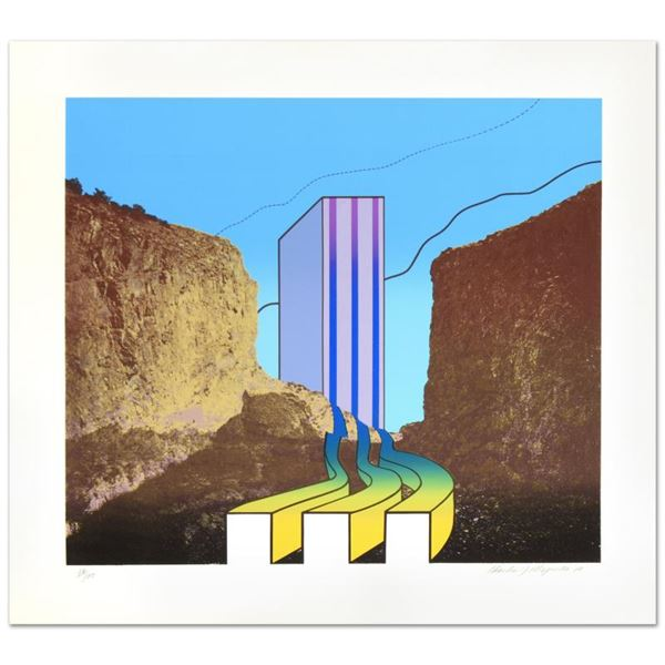 """Charles Magistro """"Great American Canyon"""" Limited Edition Lithograph On Paper"""