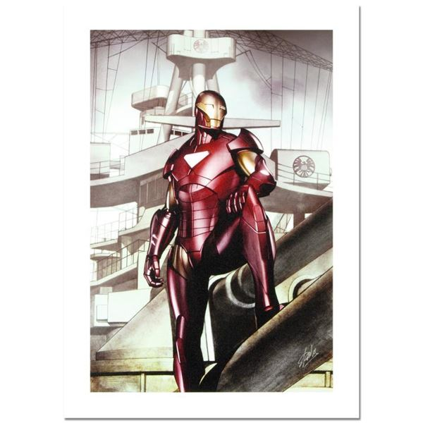 """""""Iron Man: Director Of Shield #32"""" Limited Edition Giclee On Canvas"""