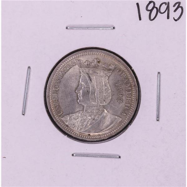 1893 Isabella Commemorative Quarter Coin