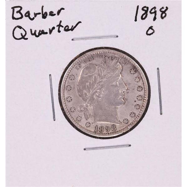 1898-O Barber Quarter Coin