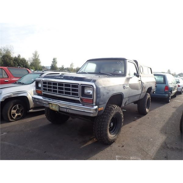 1985 Dodge D-150