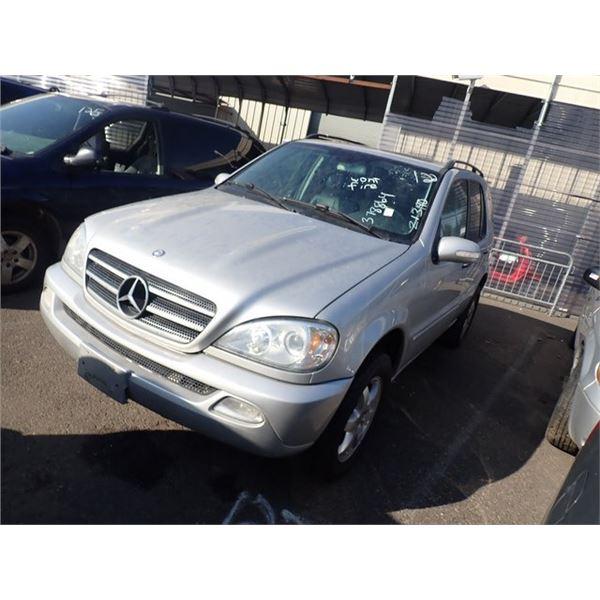 2003 Mercedes-Benz ML500