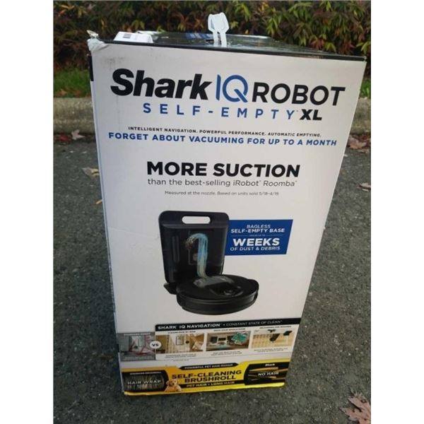 SHARK IQ PRO SELF EMPTY XL ROBOT VACUUM - TESTED WORKING