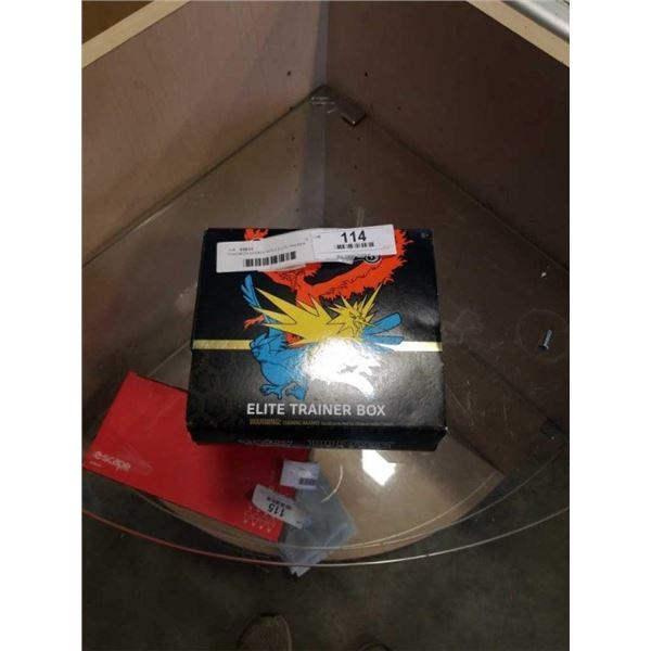 POKEMON HIDDEN FATES ELITE TRAINER BOX OPEN BOX CONTENTS NOT VERIFIED