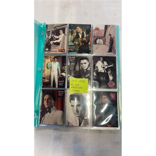 100  1992 ELVIS PRESLEY CARDS