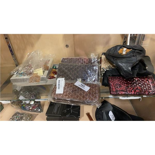 LOT OF JEWELRY AND PURSES