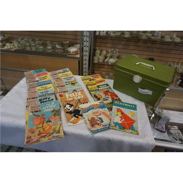 VINTAGE CLASSICS ILLUSTRATED AND CLASSICS JUNIOR ILLUSTRATED COMICS, INCLUDES CHILDRENS PLAYMATE AND