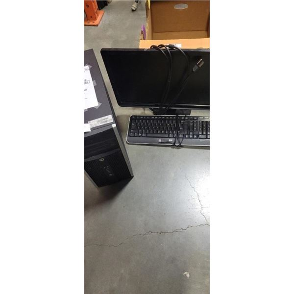 HP INTEL I3 3RD GEN, WINDOWS 10 UPDATE 12 GB DDR3 RAM, 500 GB HDD WITH MONTIOR KEYBOARD AND MOUSE