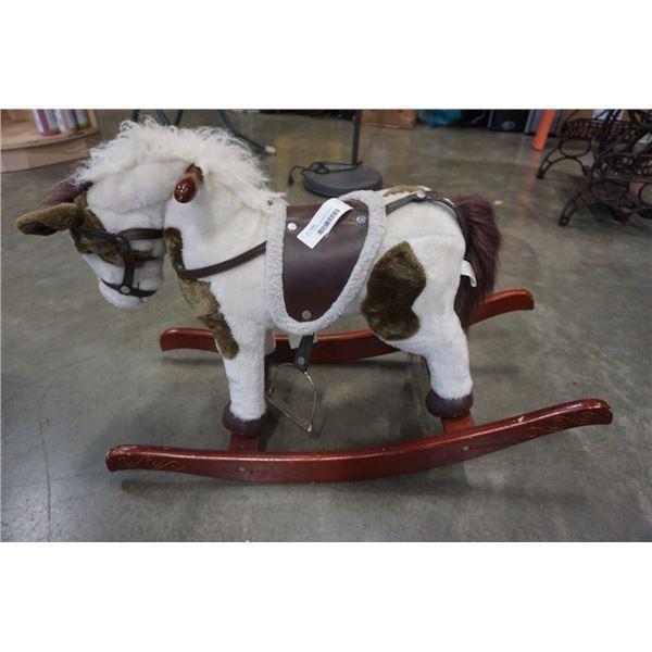 CHILDS RIDEON ROCKING HORSE