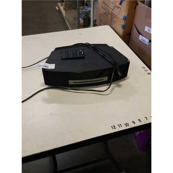 BOSE WAVE RADIO CD II WITH REMOTE