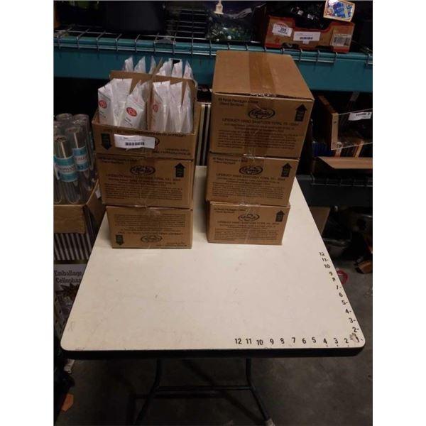 6 BOXES LIFEBUOY HAND SANITIZER
