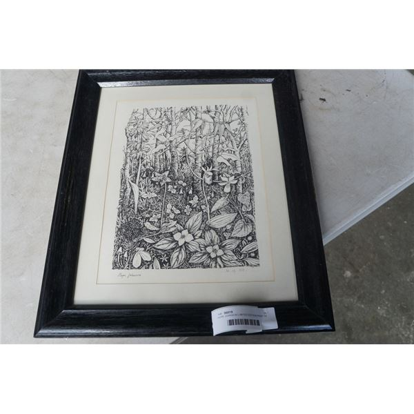 HOPE JOHNSON LIMITED EDITION PRINT 14 OF 100