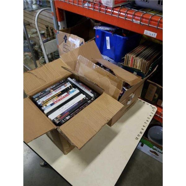 4 AVENGERS IRON MAN GLOW BUDDIES AND BOX OF DVDS