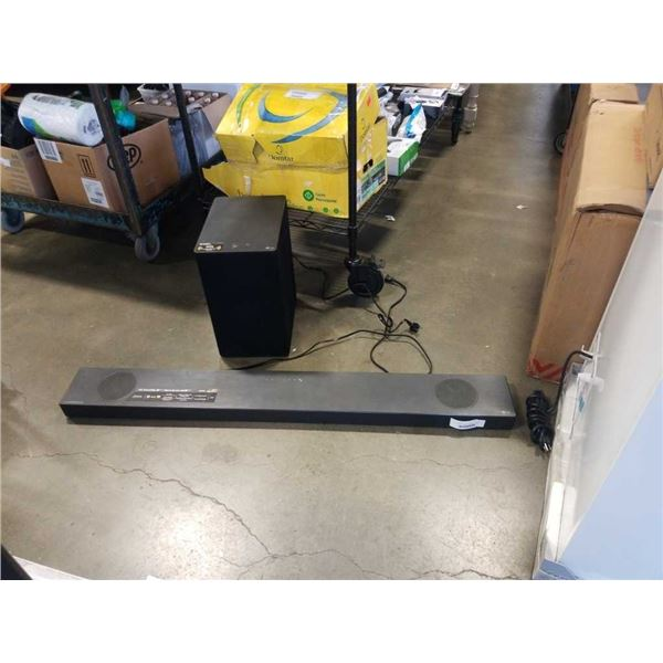 LG SN9YG SOUNDBAR AND SUB - TESTED AND WORKING WITH BLUETOOTH AND HDMI
