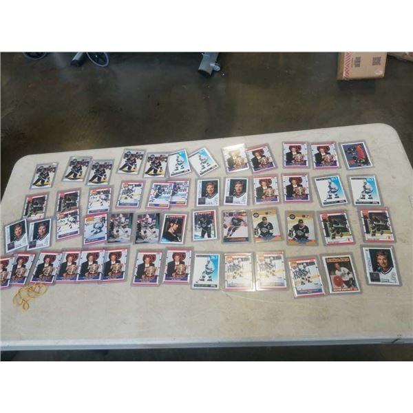 51 WAYNE GRETZKY CARDS HARD CASED