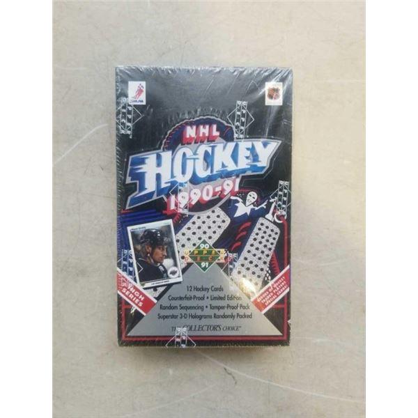 SEALED BOX 1990-91 UPPER DECK NHL HOCKEY CARDS