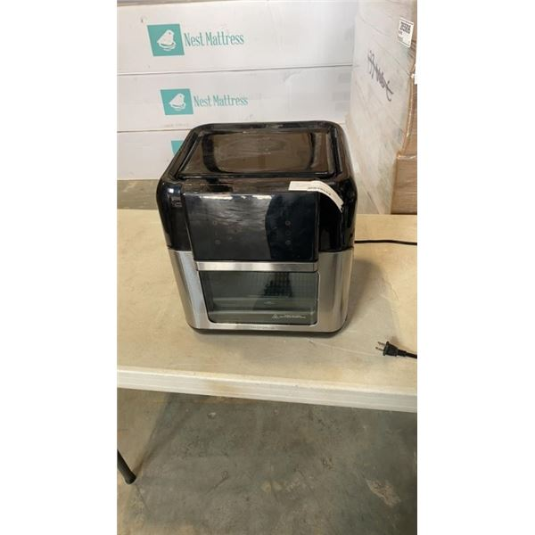INSIGNIA 10 QUART AIR FRYER DIGITAL OVEN TESTED AND WORKING