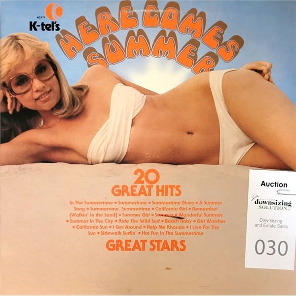K-Tel's HERE COMES SUMMER