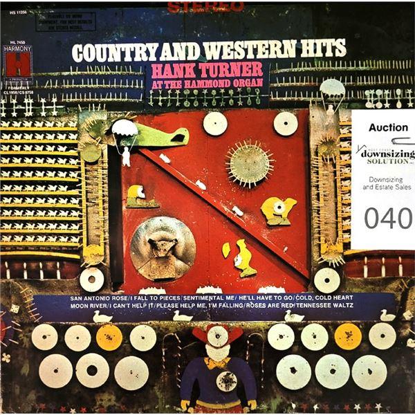 Hank Turner at the Hammond Organ