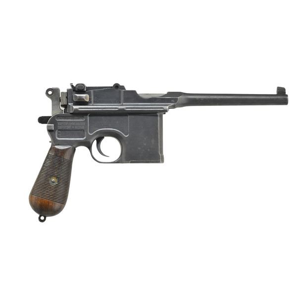 MAUSER WARTIME COMMERCIAL MODEL 1896 SEMI-AUTO