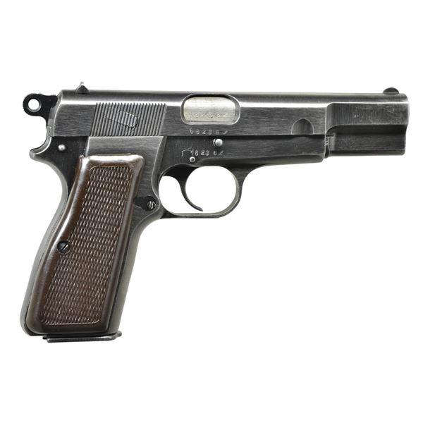 FN MODEL 1935 (p) HIGH POWER SEMI-AUTO PISTOL.
