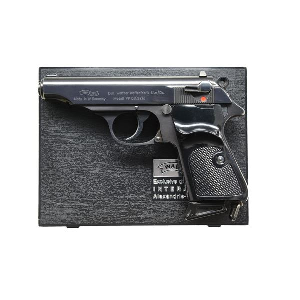 RARE WALTHER 22LR BRITISH CONTRACT MODEL PP