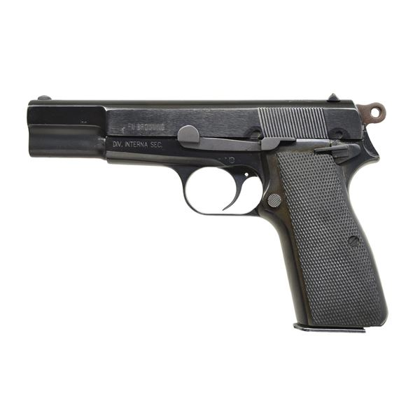 FN HI POWER BS AIRES POLICE SEMI AUTO