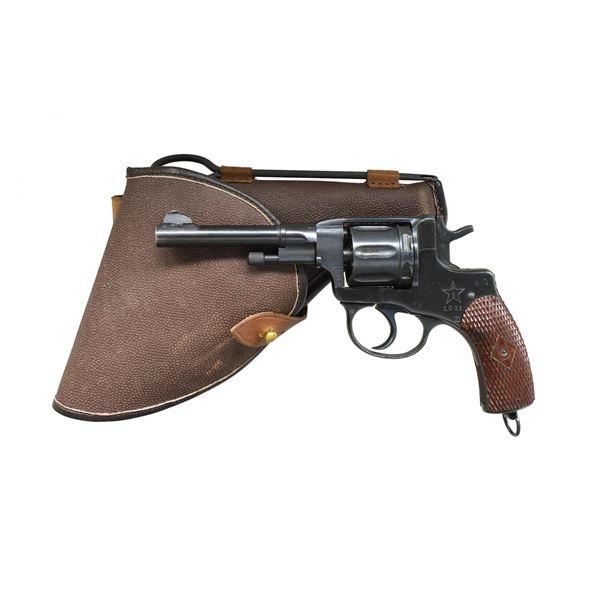 RUSSIAN MODEL 1895 NAGANT REVOLVER.