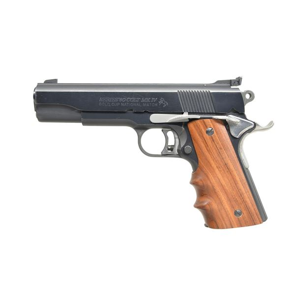 LIGHTLY ACCESSORIZED COLT SERIES 80 45 ACP GOLD