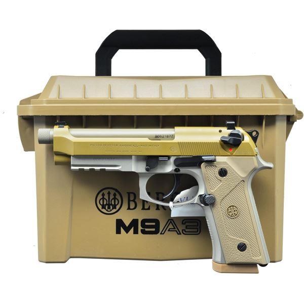 BERETTA M9A3FS SEMI AUTO PISTOL.