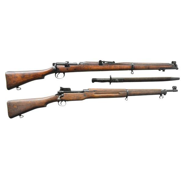 2 MILITARY BOLT ACTION GUNS; CONVERSION OF #3