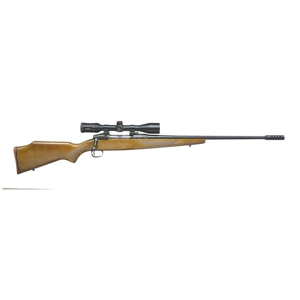 SAVAGE 110 & WINCHESTER 70 BOLT ACTION RIFLES.