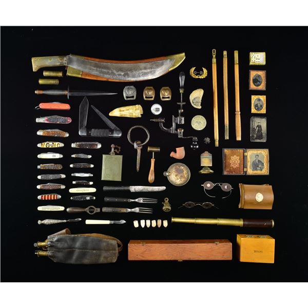 MILITARY ITEMS & MORE FROM THE CIVIL WAR THROUGH