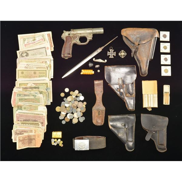 WWII GERMAN MILITARIA & RELATED ITEMS.