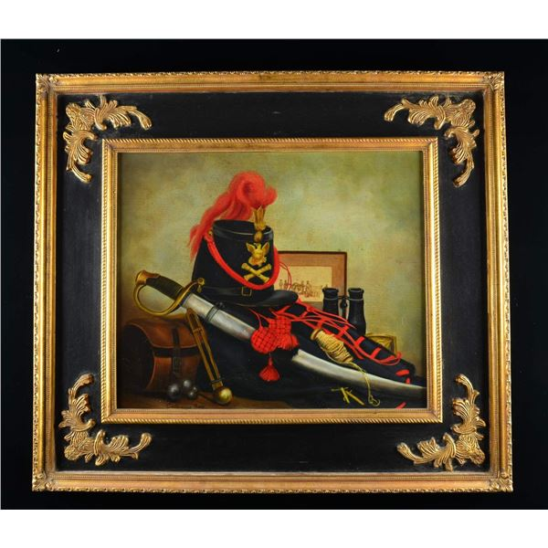 SUPERB AMERICANA PAINTING OF A STILL LIFE