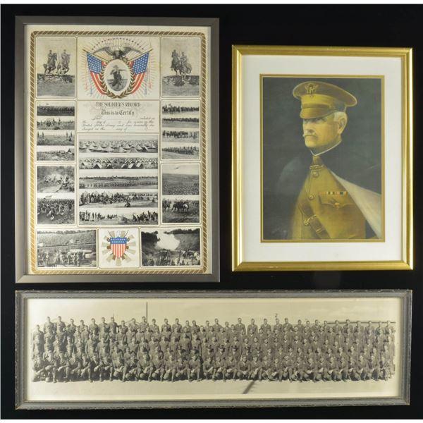 WWI & II POSTERS, PRINTS & A PHOTO.