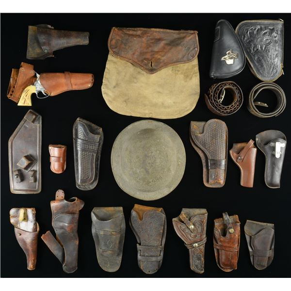 HOLSTERS, MILITARIA, SHOOTING RELATED ITEMS,