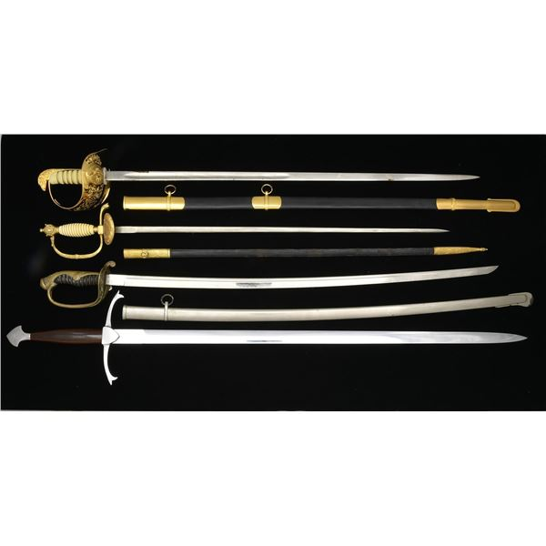 4 FOREIGN SWORDS.