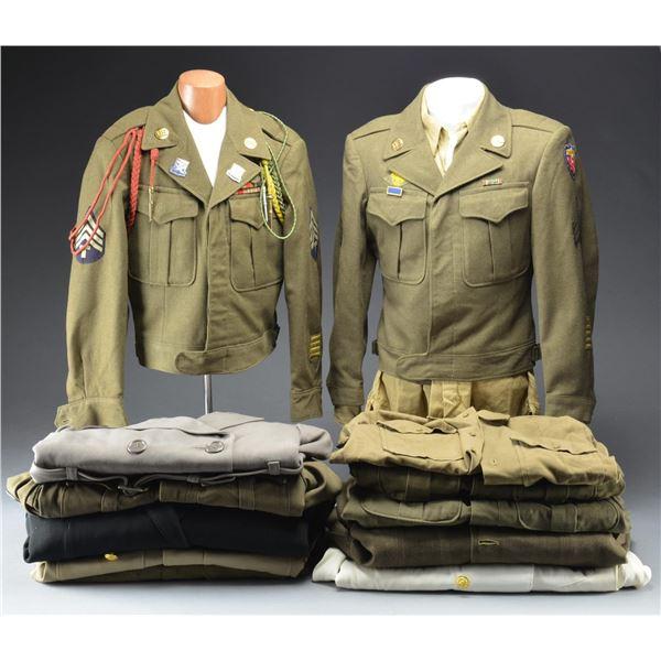 WWII UNIFORMS & PANTS.