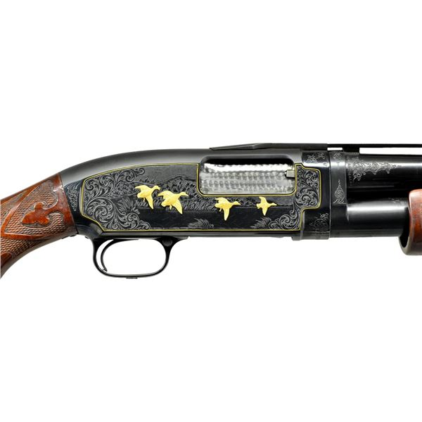 WINCHESTER MODEL 12 SUPER PIGEON NO. 5 ENGRAVED