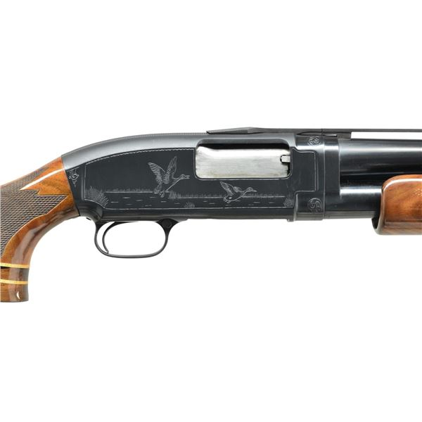 PAULINE MUERRLE ENGRAVED WINCHESTER MODEL 12 TRAP