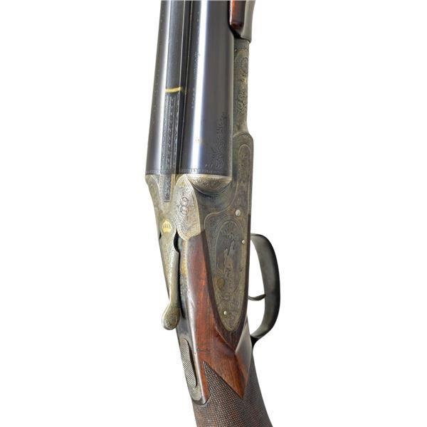 SCARCE LC SMITH CROWN GRADE SXS TRAP GUN.