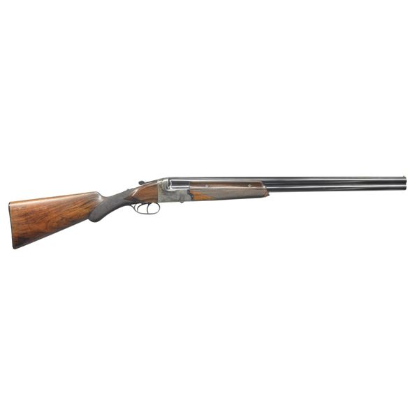 GOOD QUALITY BELGIAN O/U GAME GUN RETAILED BY IVER