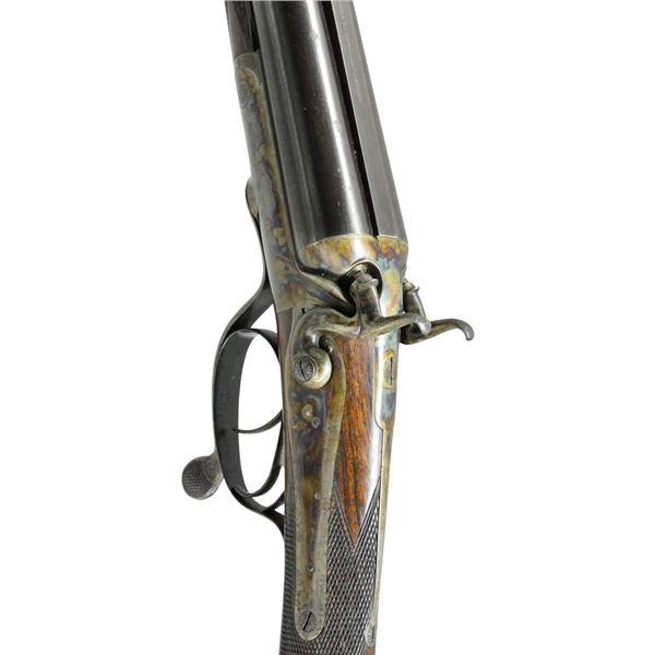 HIGH ORIGINAL CONDITION HAMMER DOUBLE RIFLE BY