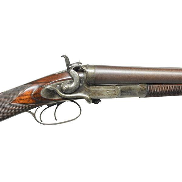 SIDE LEVER HAMMER SXS GAME GUN BY W. & C. SCOTT.